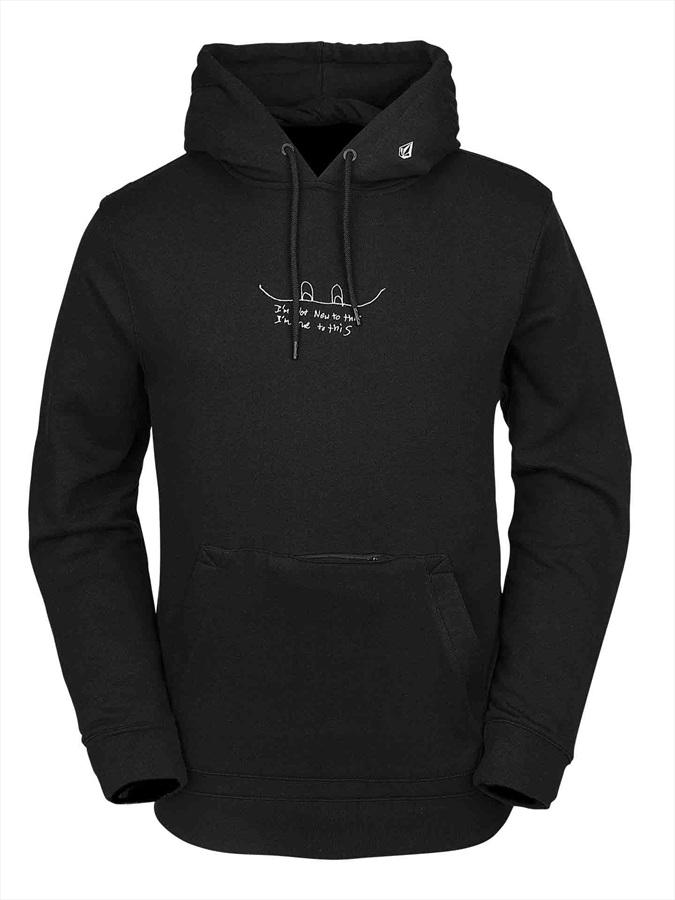 Volcom JLA Pullover Fleece Ski/Snowboard Hoody XL Black