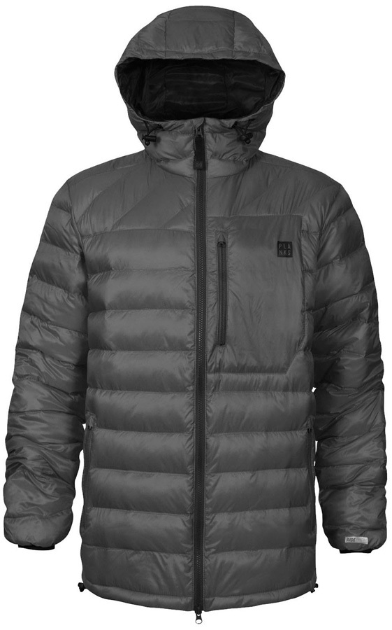 Planks Cloud 9 Insulator Insulated Mid-Layer Jacket, L Charcoal