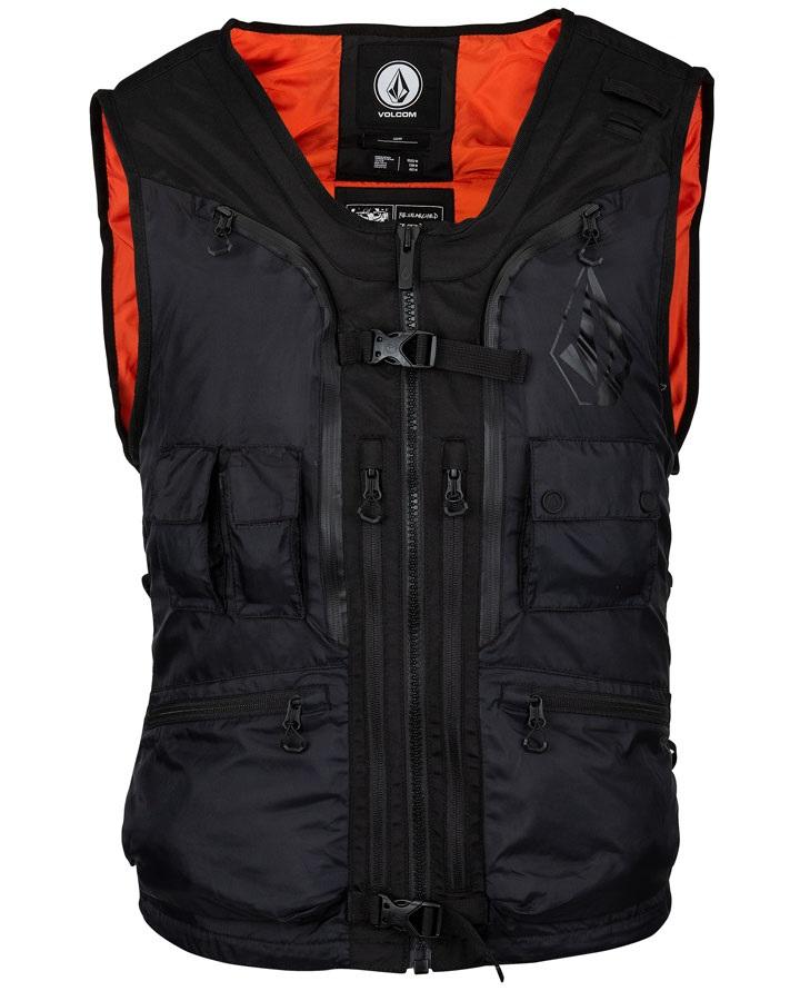 Volcom Iguchi Slack Ski & Snowboard Vest, S Black