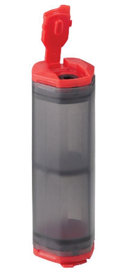 MSR Alpine Salt & Pepper Shaker Camping Salt Shaker Kit, Grey/Red