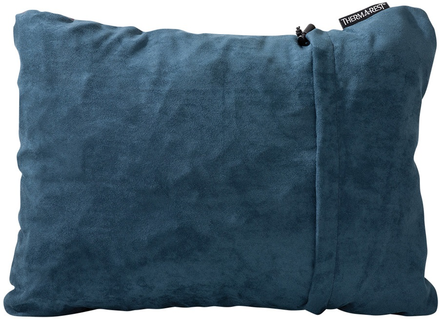 ThermaRest Compressible Travel Pillow Camping Pillow, M Denim