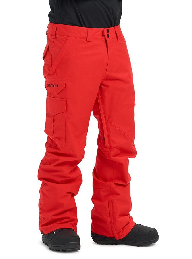 Burton Cargo Snowboard/Ski Pants S Flame Scarlet 2020