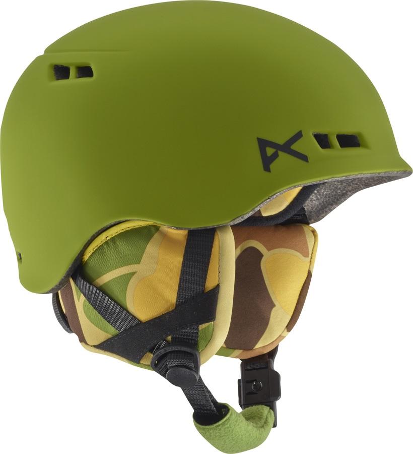 Anon Burner Kid's Ski/Snowboard Helmet, L/XL Kamo Green