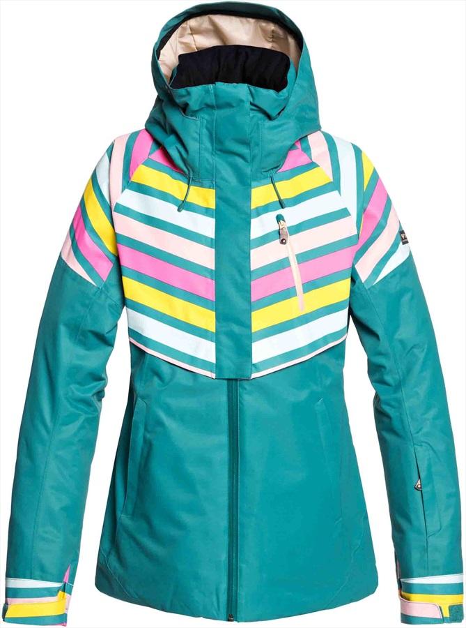15371c7d5f Roxy Frozen Flow Women's Snowboard/Ski Jacket, S North Sea Pop Snow