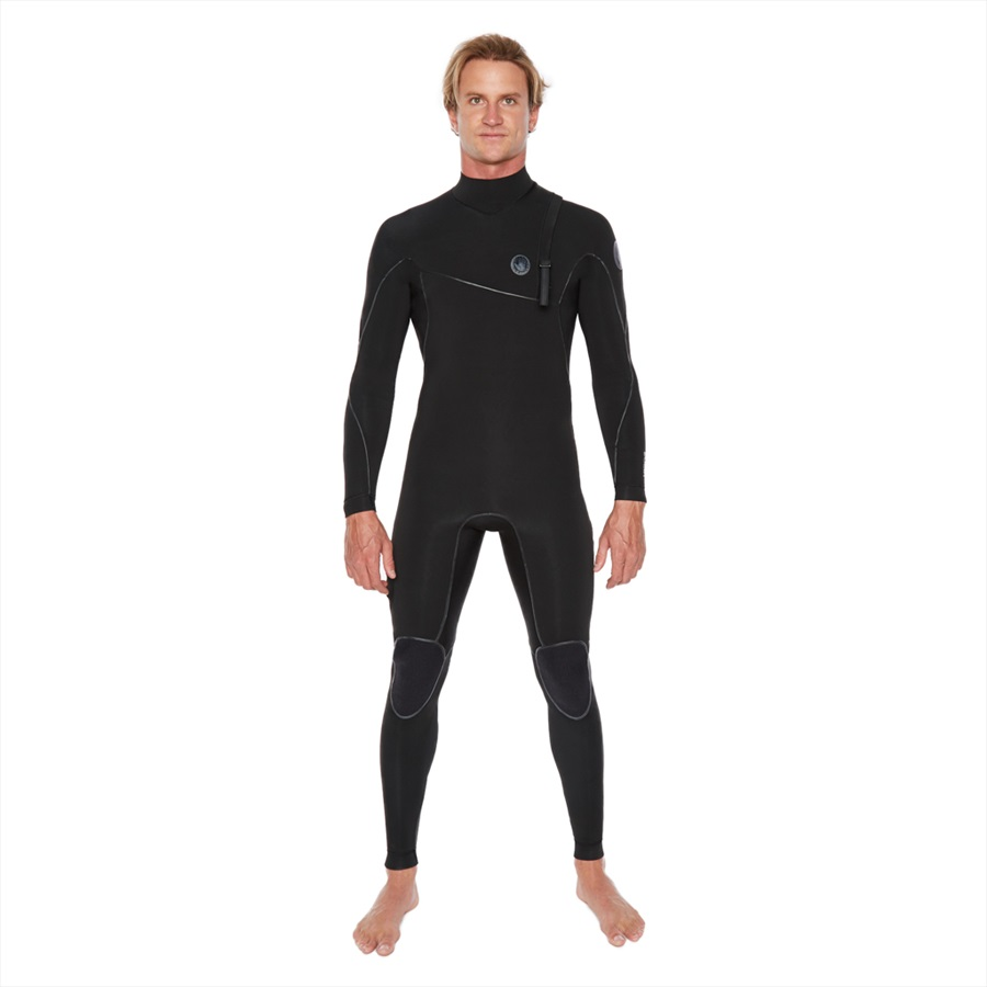 Body Glove Vapor Zipperless 3/2 Full Surfing Wetsuit, MT Black