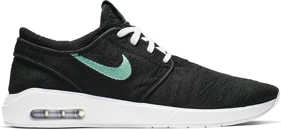 Nike SB Janoski Max 2.0 Men's Trainers Skate Shoes, UK 9 Black/Mint