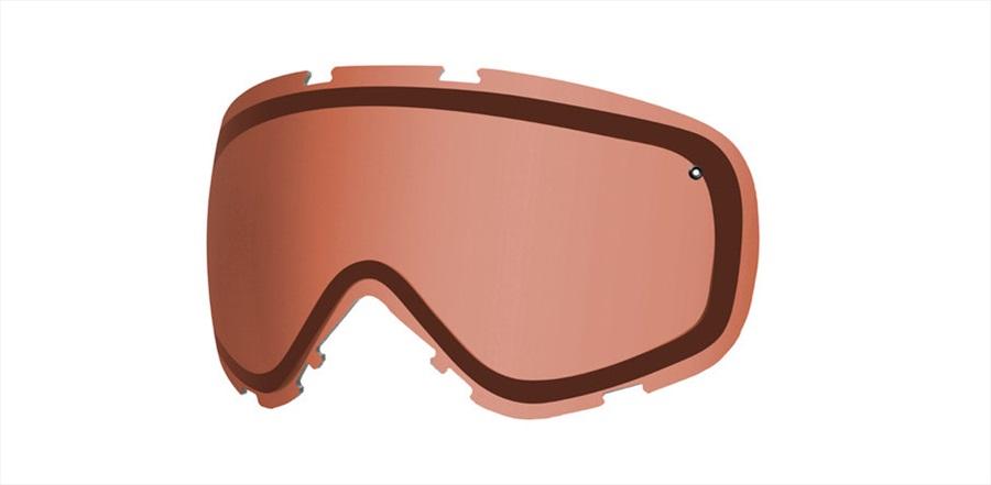 Smith Cadence Ski/Snowboard Goggles Spare Lens, RC36 Rose Copper