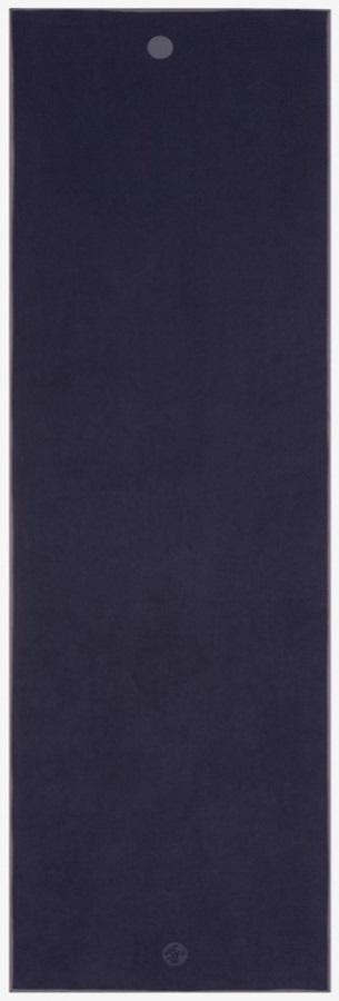 Manduka Yogitoes Yoga Mat Towel, Midnight