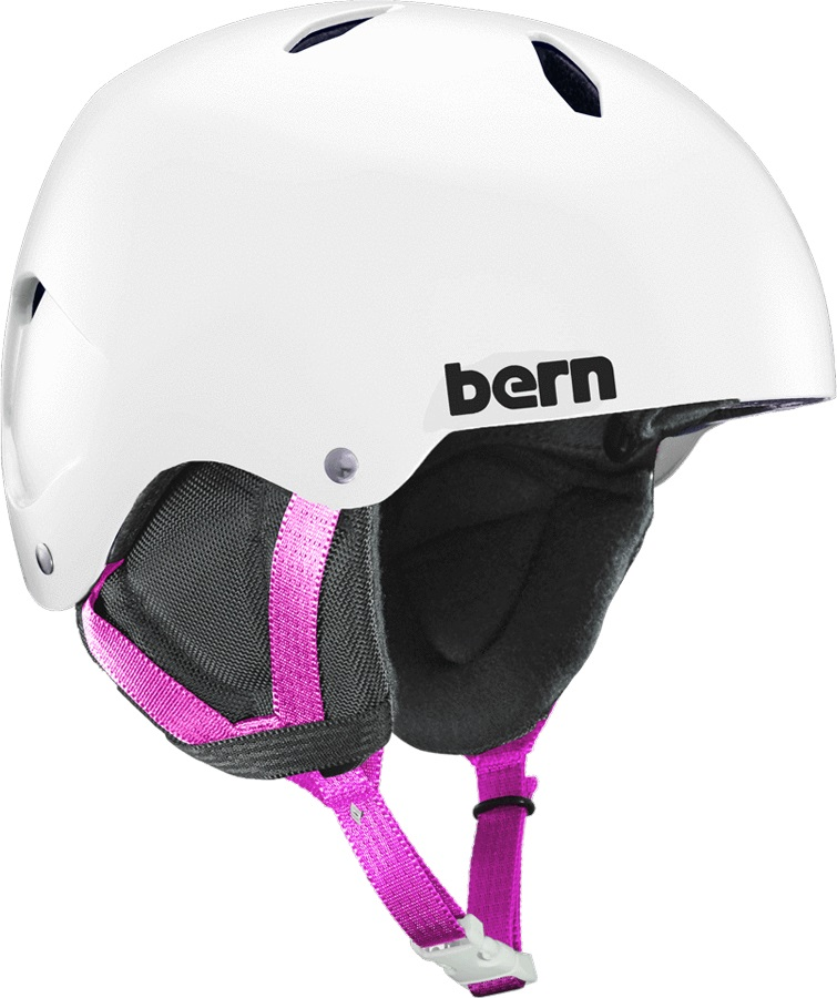 Bern Team Diablo EPS Boy's Ski/Snowboard Helmet, S Satin White