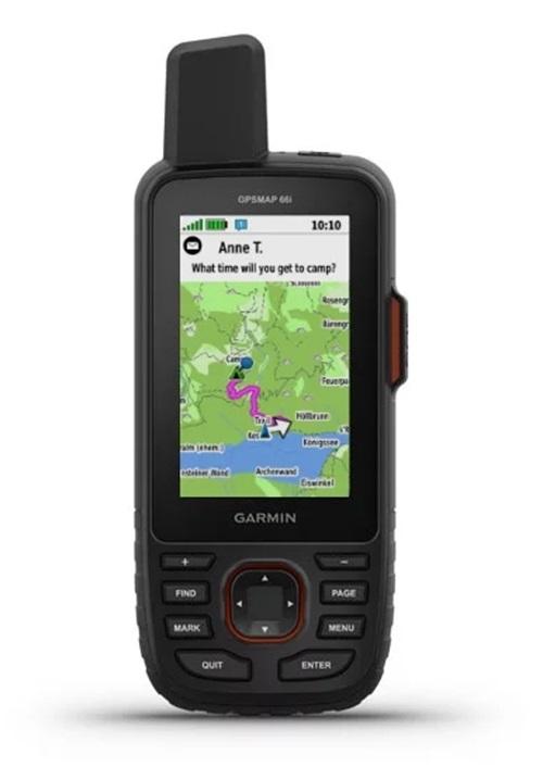 Garmin GPSMAP 66i Handheld GPS Device BirdsEye Bundle Communicator
