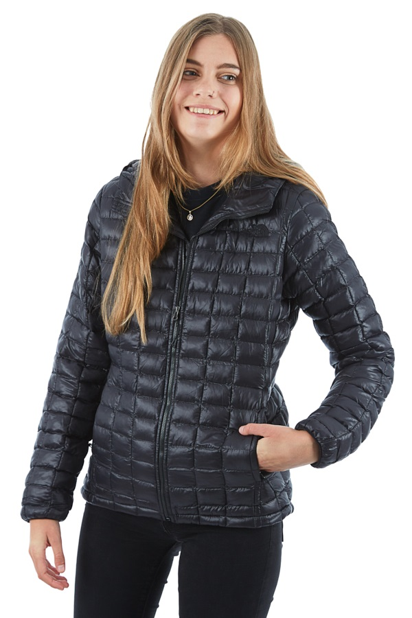 THE NORTH FACE Women/'s Black Thermoball Full-Zip Jackets
