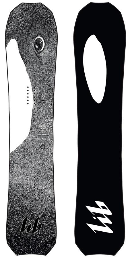 Lib Tech T.Rice Orca Hybrid Camber Snowboard, 144cm 2020