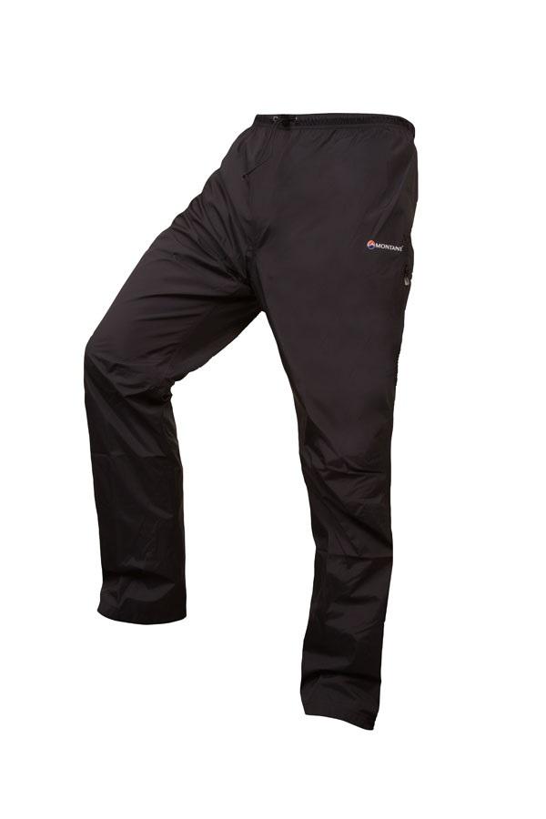 Montane Adult Unisex Atomic Pants, L, Reg. Leg Black 2020