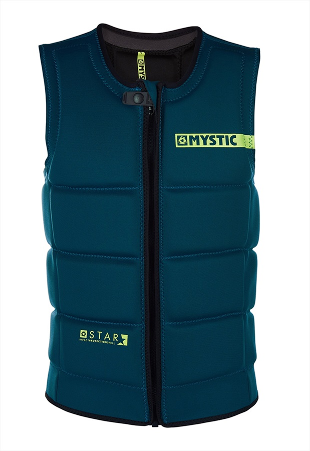 Mystic Star Wakeboard Impact Vest, X Large Teal 2019
