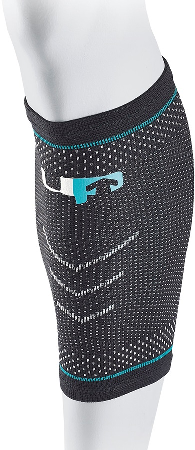 Ultimate Performance Compression Elastic Calf Support, S Black/Blue