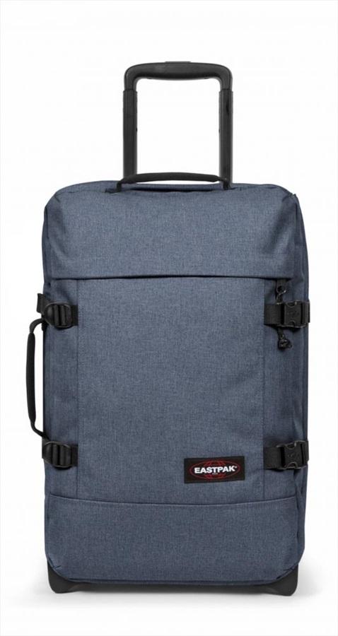Eastpak Tranverz S Wheeled Bag/Suitcase, 42L Crafty Jeans