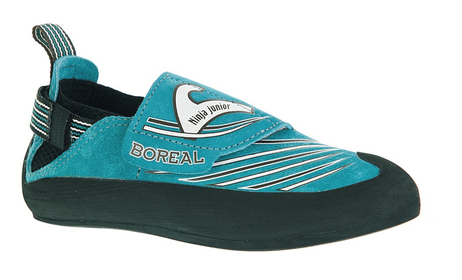 Boreal Ninja Junior Kid's Rock Climbing Shoe UK 1-1.75 Blue