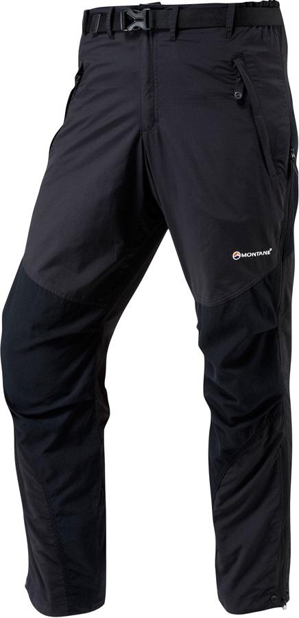 Montane Terra Pants 4 Season Hiking/Walking Trousers S Black Regular