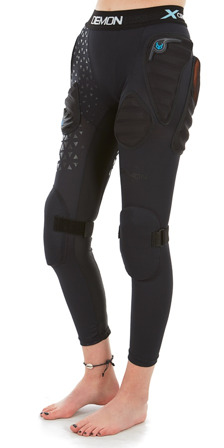 Demon Flex Force X D3O V2 Women's Ski/Snowboard Impact Pants, L Black