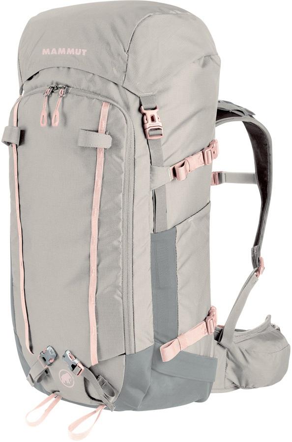 Mammut Trea 35 Womens Alpine Climbing Backpack, 35L Linen-Iron