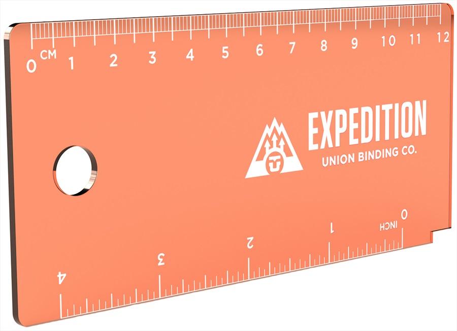 Union Expedition Snowboard/Ski Wax Scraper, 13mm Orange 2020