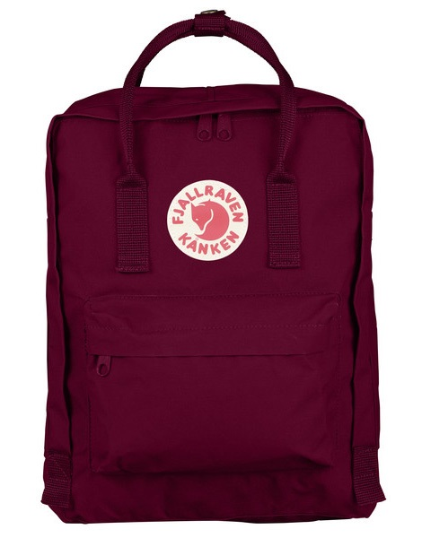 Fjallraven Kanken Backpack, 16L Plum