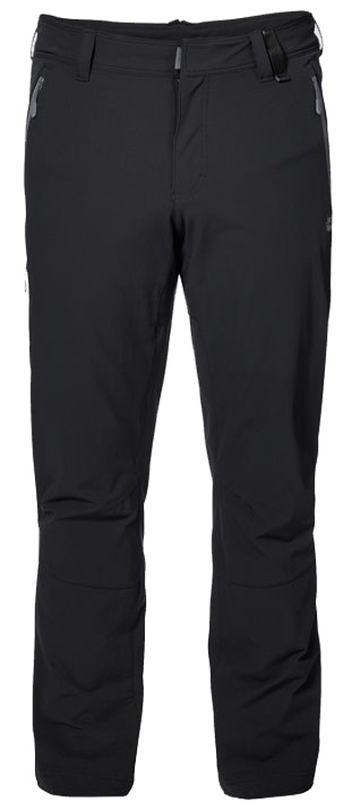 new arrive new images of low cost Jack Wolfskin Activate XT Men Softshell Trousers: 34, Black
