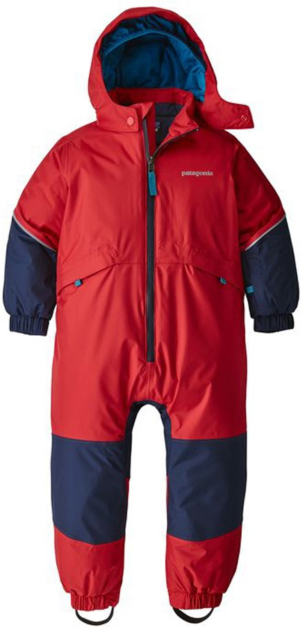 Patagonia Baby Snow Pile One-Piece Snow Suit, 4T Fire