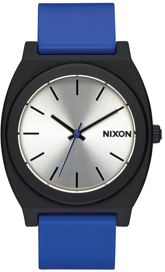 Nixon Time Teller P Analogue Wrist Watch Black/Blue
