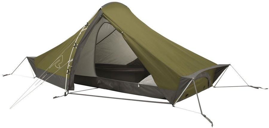 Robens Starlight 2 Tent Lightweight Backpacking Tent, 2 Man Olive