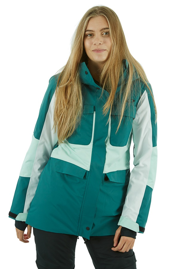 Oakley Moonshine 2.0 Women's Snowboard/Ski Jacket, M Balsam