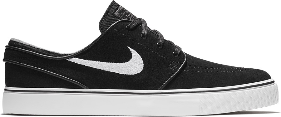 Nike SB Zoom Stefan Janoski Men's Skate Shoes, UK 8 Black/Grey/Brown