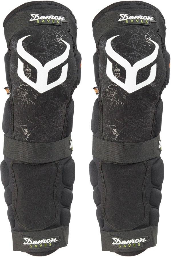 Demon Hyper Knee/Shin X D3O V3 Ski/Snowboard Pads L Black