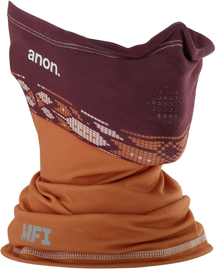 Anon Light-Weight Neckwarmer MFI Facemask, Maroon