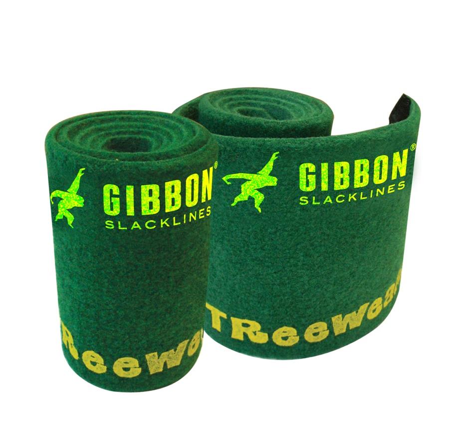Gibbon Tree Wear Slackline Accessory, 100 X 16 Cm, Green