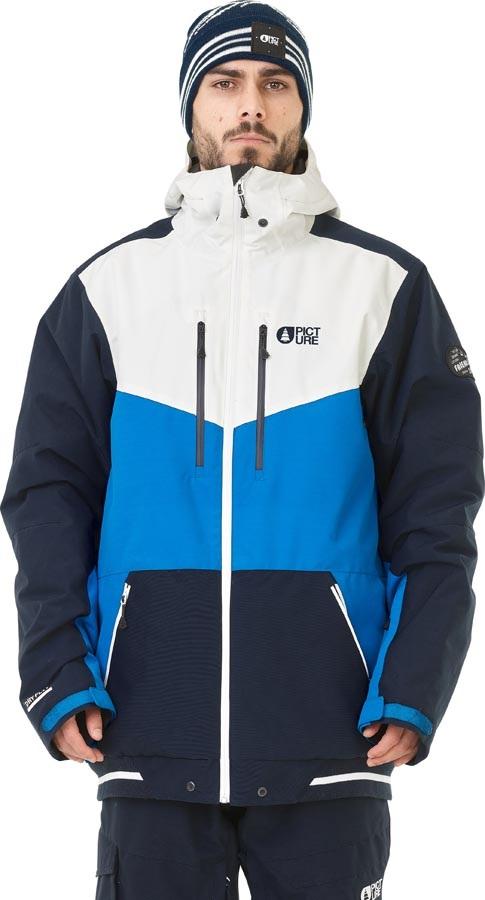 Picture Panel Ski/Snowboard Jacket, M Blue 2020