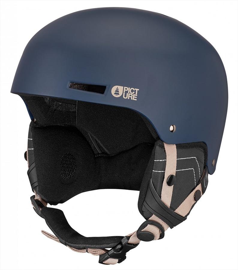 Picture# Tempo Snowboard/Ski Helmet, M Dark Blue