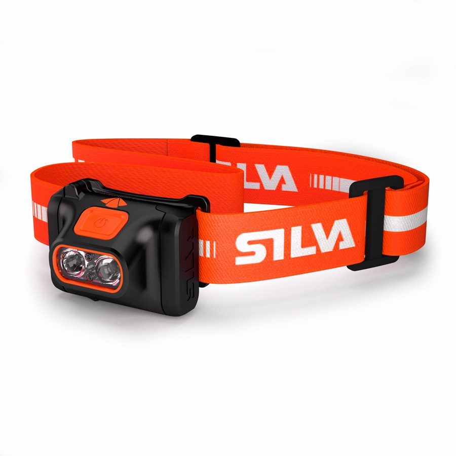 SILVA Scout IPX5 DofE LED Headlamp, 220 Lumens Orange