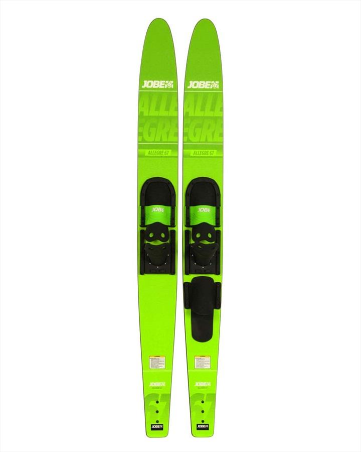 """Jobe Allegre Combo Water Ski, 67"""" Lime Green 2019"""