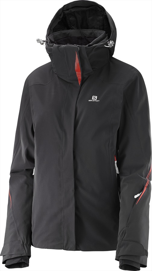 Salomon Brilliant Women's SkiSnowboard Jacket M Black