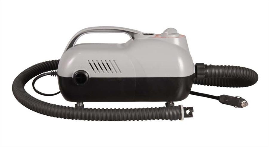 Jobe SUP High Pressure Electric Pump, 12V Black Grey 2019