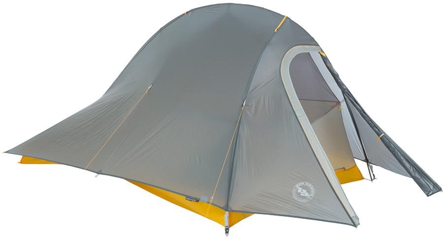 Big Agnes Fly Creek HV UL2 Bikepack Ultralight Bikepacking Tent, 2 Man