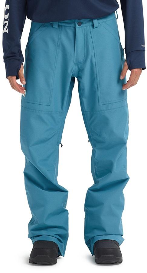 Burton Ballast Gore-Tex Ski/Snowboard Pants, S Storm Blue