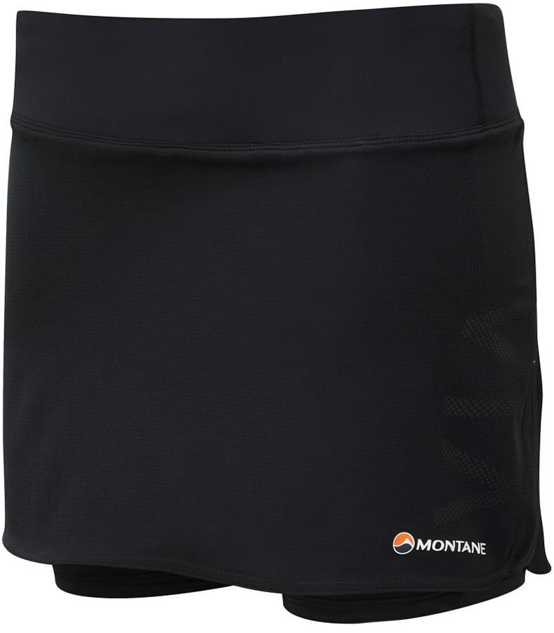 Montane Trail 2SK Women's Inner Tights Running Skort, L Black