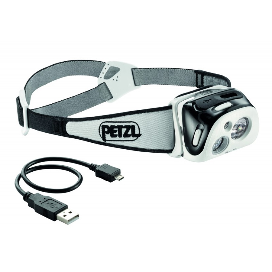 Petzl Reactik+ Compact Bluetooth Headtorch 300 Lumens Black