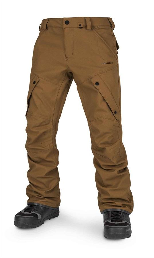 Volcom Articulated Men's Ski & Snowboard Pants M Caramel