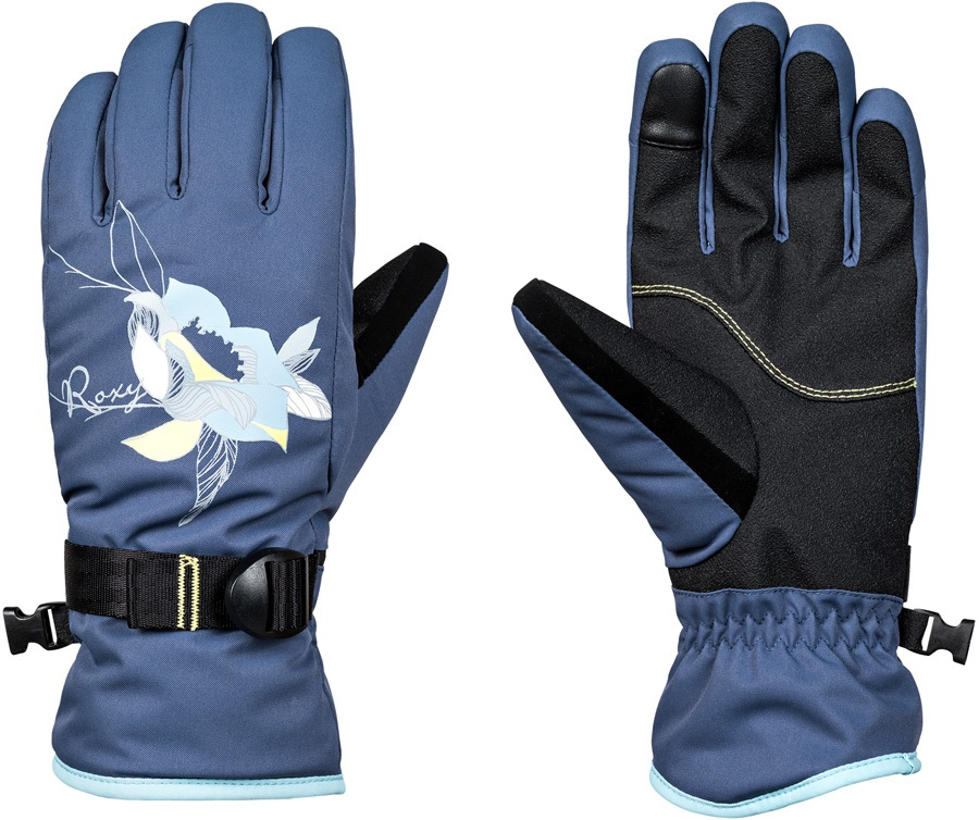 Roxy Freshfield Women's Snowboard/Ski Gloves, S Crown Blue