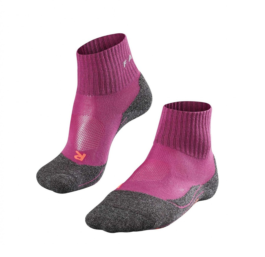 Falke TK2 Short Cool Women's Hiking/Walking Socks UK 2.5-3.5 Wildberry