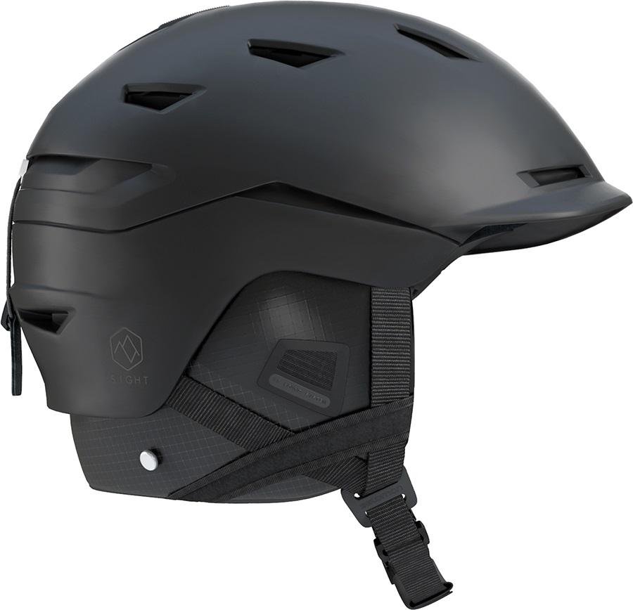 Salomon Sight Snowboard/Ski Helmet, S All Black