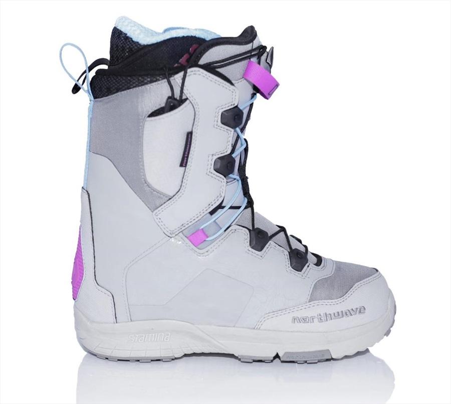 Northwave Domino SL Women's Snowboard Boots, UK 5.5 Grey 2019